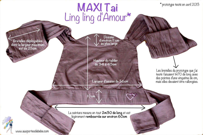 fdcf3a04763 Le Maxi-Tai Ling Ling d Amour
